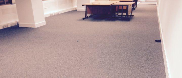 Jhs Carpet Tiles At Capital Tower Cardiff Dcs Flooring Ltd