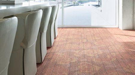 Desso commercial carpet Leicester.