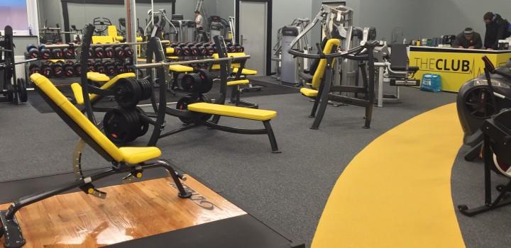 Gym Flooring At B Physical Dcs Flooring Ltd