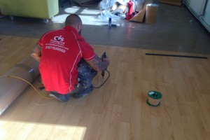 DCS Sports flooring in Leicestershire 2