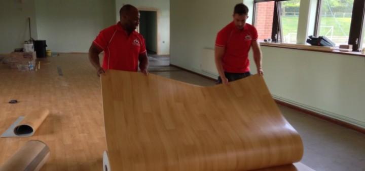 Sports Flooring at Market Bosworth High School