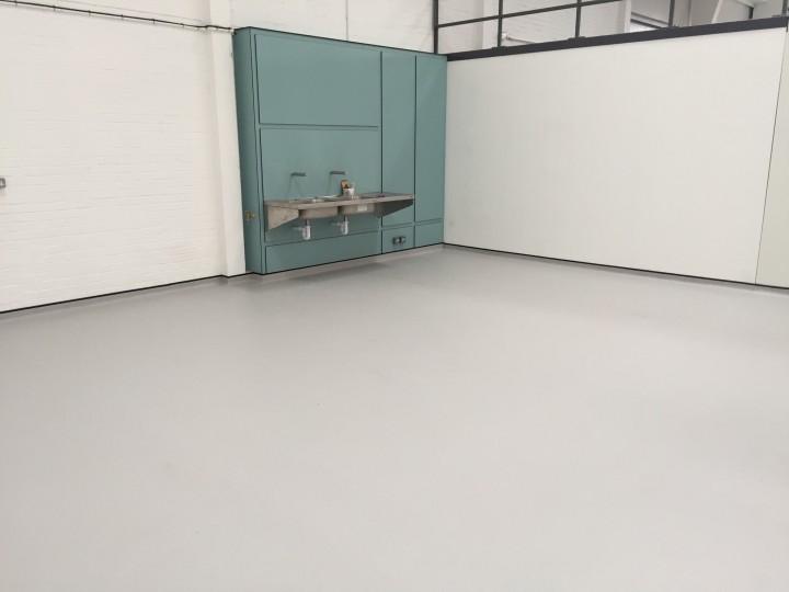 Wet Room Flooring At Benmor Medical U K Dcs Flooring Ltd