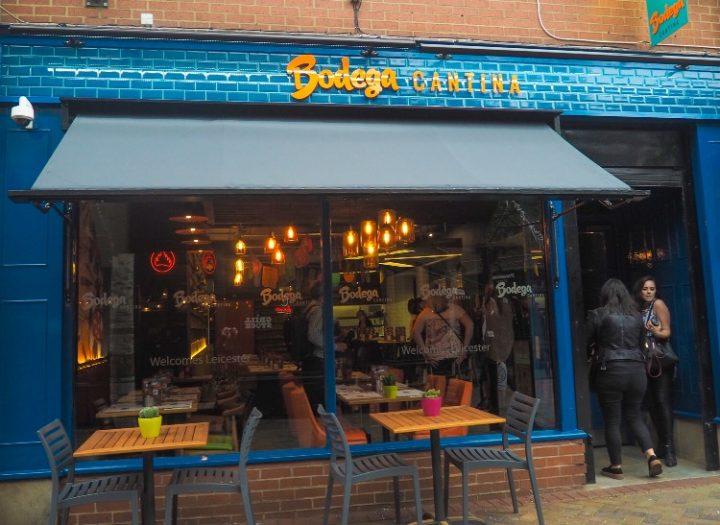 Bodega Cantina Restaurant in Leicester City Centre