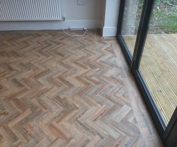 Polyflor camaro lVT flooring Leicester - oak