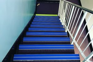 Quantum Stair nosings at Servicemaster HQ